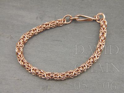 Davidchain Jewelry - Byzantine Tutorial Great tutorials for chainmaille. Easy to follow images!!