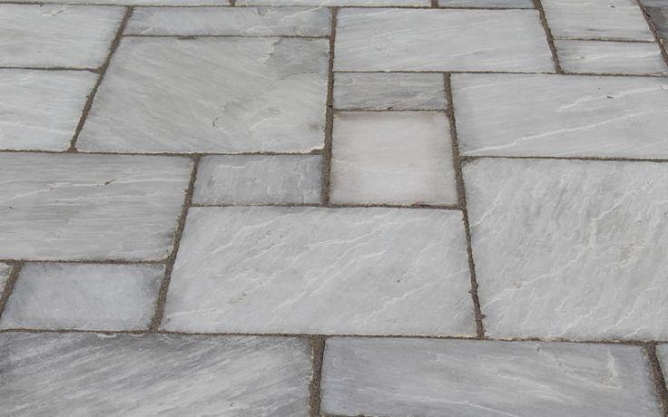 Tumbled Indian Sandstone Patio Slabs and Flagstones | Nigel Belcher Turf & Paving | Berkshire