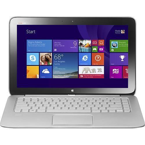"""HP - Split x2 2-in-1 13.3"""" Touch-Screen Laptop - Intel Core i5 - 4GB Memory - 128GB Solid State Drive - Natural Silver"""