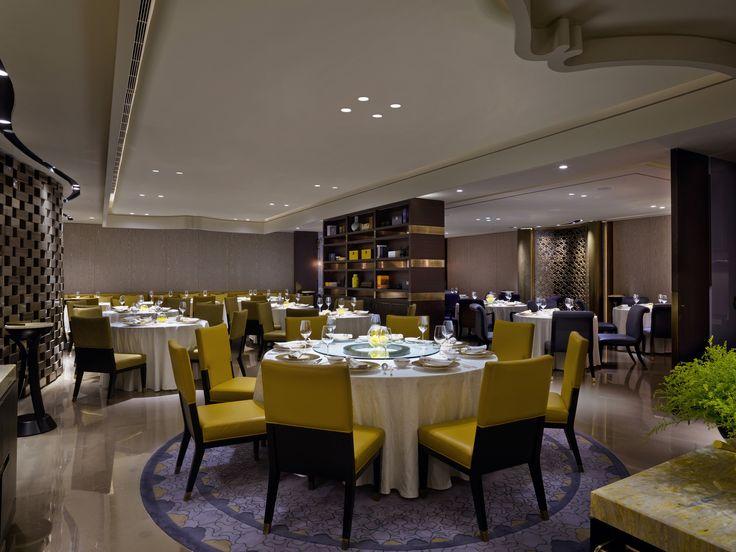 Shangri La Bosphorus Istanbul Shang Palace Restaurant Dining Area