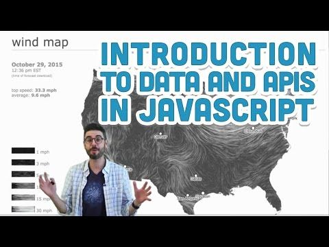 8.1: Introduction to Data and APIs in JavaScript - p5.js Tutorial