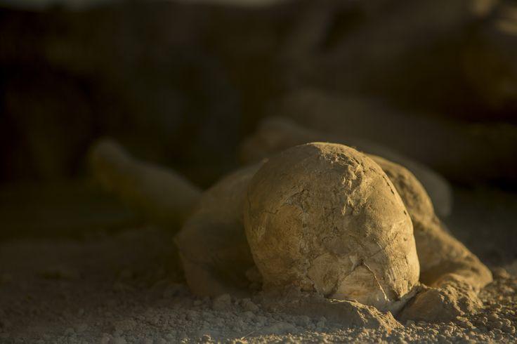 Pompeii, body of a victim