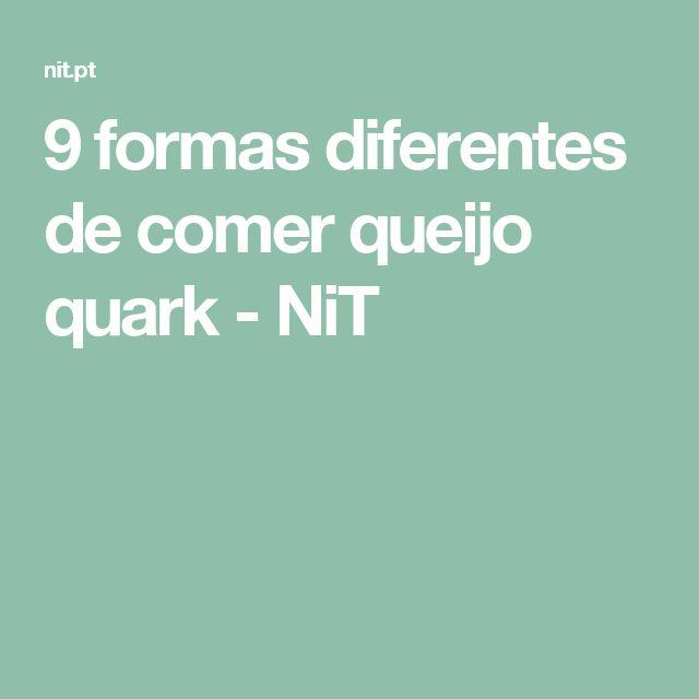 9 formas diferentes de comer queijo quark - NiT