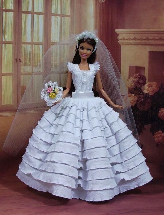robe barbie marie n18 vtement pour poupe f3788