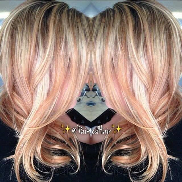 1000+ ideas about Rose Gold Highlights on Pinterest