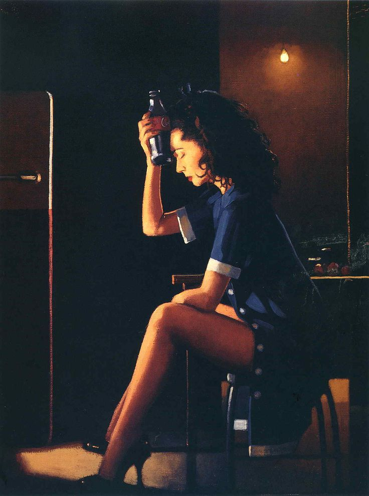 Heatwave - Jack Vettriano -- seems appropriate for today