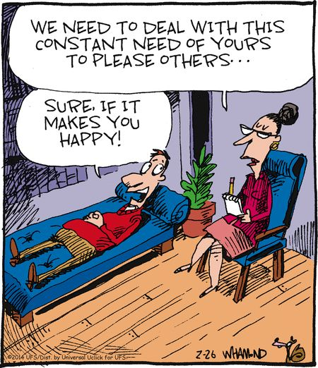 Reality Check on GoComics.com ...Dave Whamond. Happy.