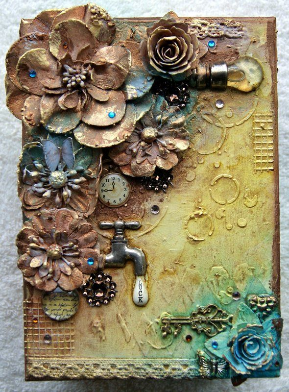 small decorated box - Scrapbook.com