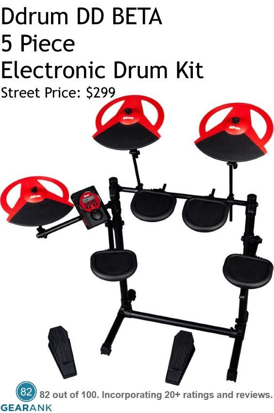 Ddrum DD BETA Electronic Drum Set This Kit Is As The Name Implies An Entry