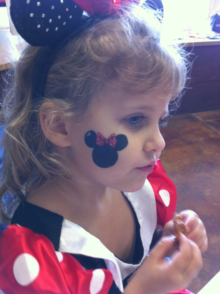 13 Best Mickey Mouse Make Up Images On Pinterest Face Paintings Painted Faces And Disney Face