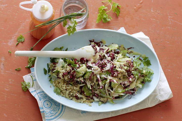 #Quinoa #Salat #Rezept #vegetarian #vegetarisch #Salatrezept