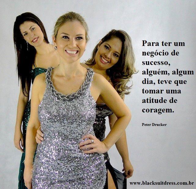 Vestidos de festa com numeração do 38 ao 52, acesse www.blacksuitdress.com.br