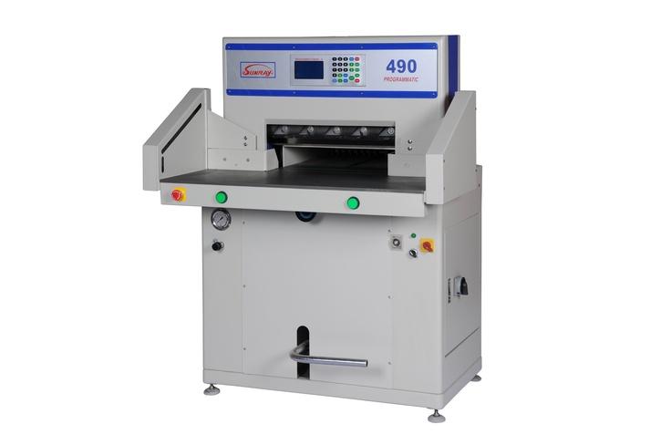 Sunray 490P Hydraulic Paper Guillotine