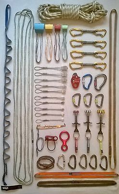 #Professional rack of trad rock #climbing gear #equipment, View more on the LINK: http://www.zeppy.io/product/gb/2/191860413709/