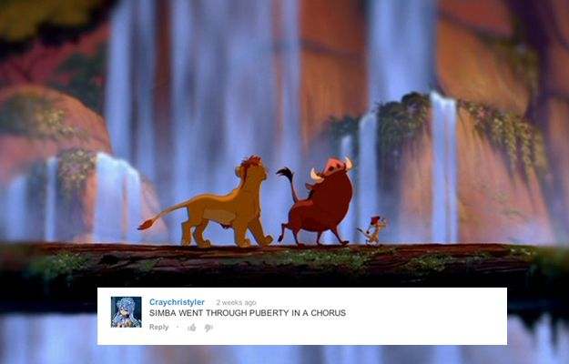 Growing up doesn't even take a whole song. | 9 Things That Can Happen In One Song According To Disney