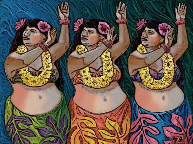 Fat Hula Dancers 61