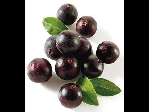 Super batido de açai - rico en vitaminas y antioxidantes.