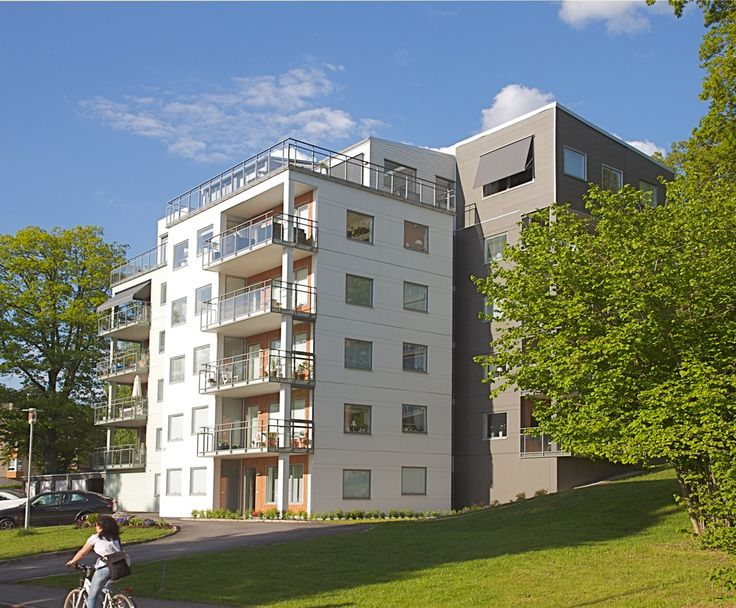 Apartment building in Ulricehamn, Sweden.