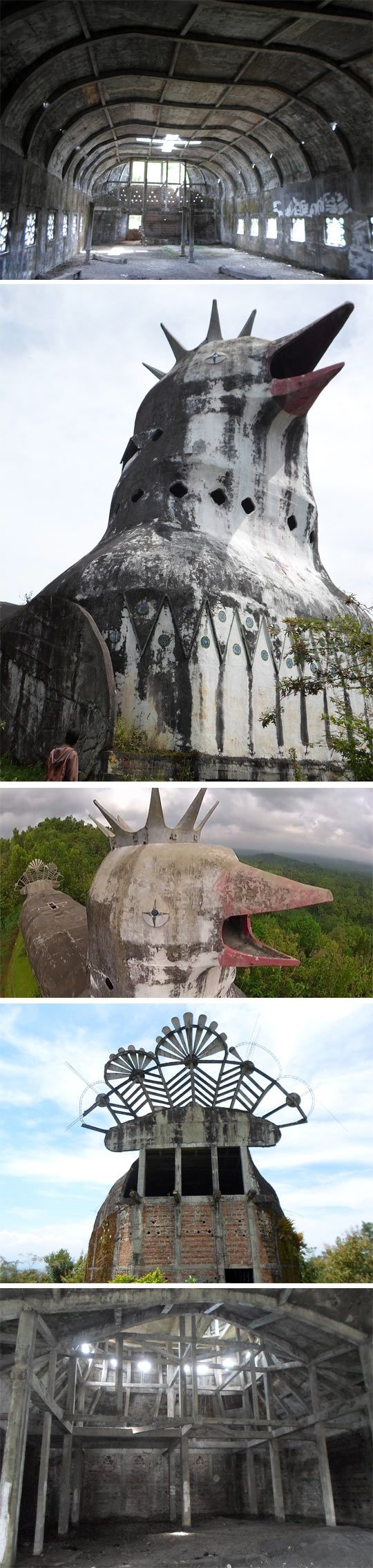 The Chicken Church in Indonesia