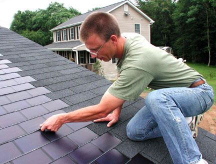 Discreet Solar Power For Your Roof - Greener Ideal
