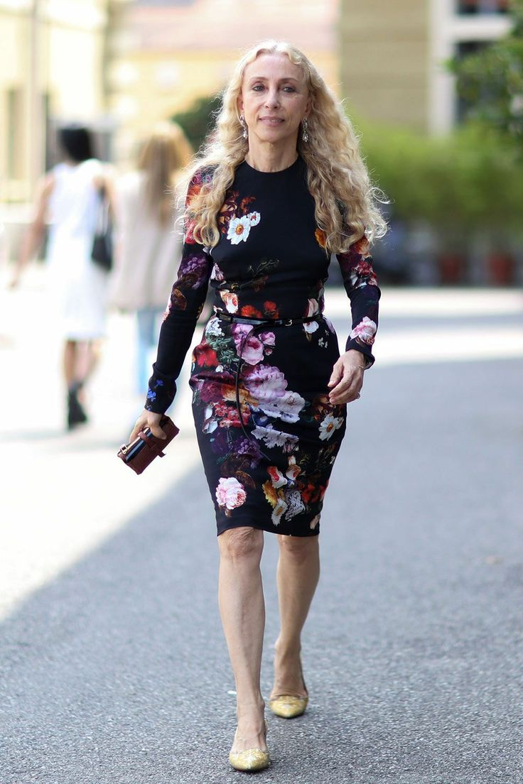 Franca killing it. Milan. #FrancaSozzani