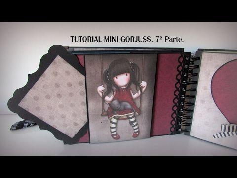 Tutorial mini Gorjuss. 7ª Parte. - YouTube