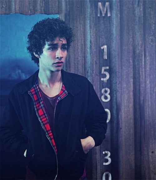 "Benjamin ""Buddy"" Patterson, 17. Parents died 2 years ago in an accident so he lives with his older brother Shiloh. A charming young man, with his messy curls and charismatic smirk, he could get his way with just a tilt of his lips and a raising of an eyebrow. A little reckless, very impulsive and emotional."