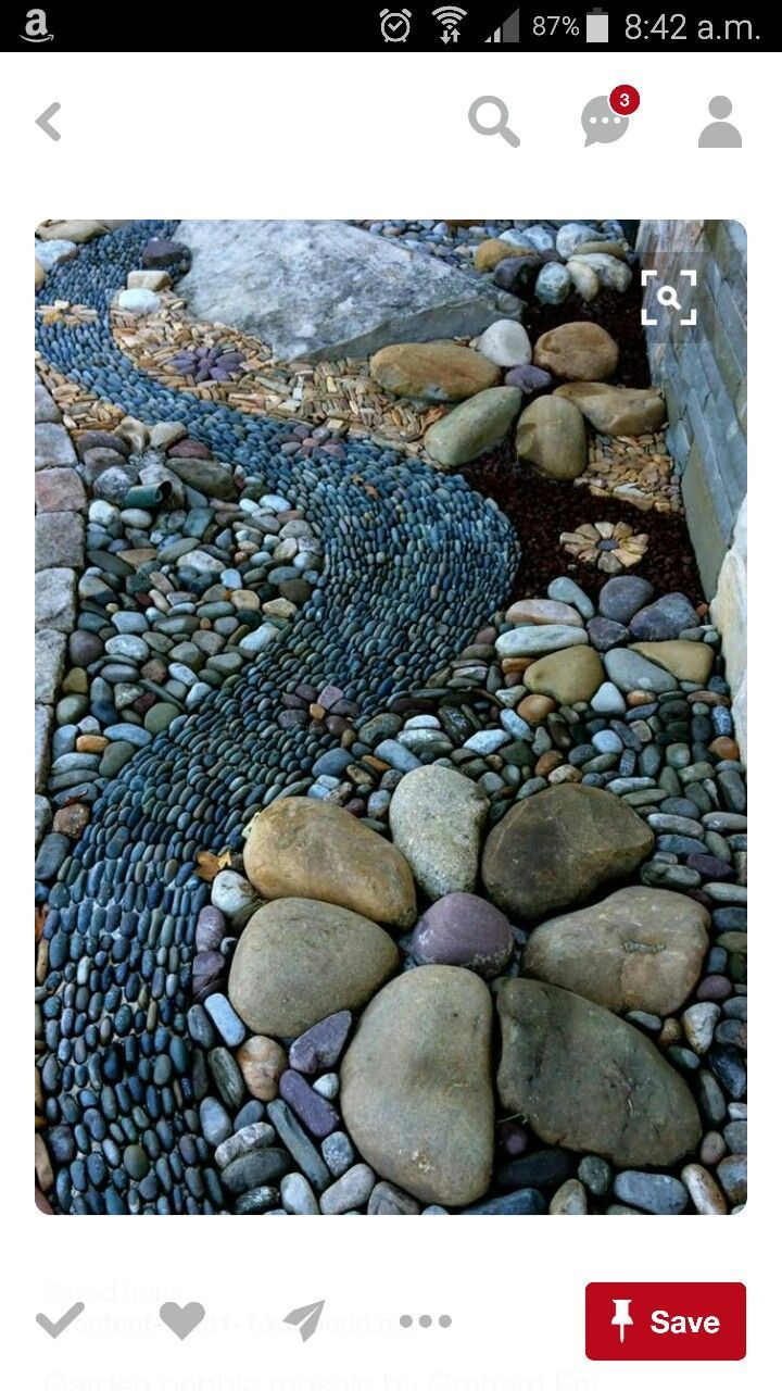 40 Amazing DIY Garden Path And Walkways Ideas | Garden Paths And Garden  With Rocks | Pinterest
