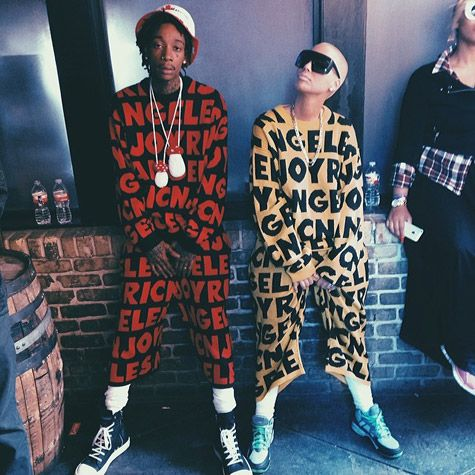 Wiz Khalifa and Amber Rose Stunt in Matching Outfits at SXSW - YuckSauce.Com #WTYuck - http://yucksauce.com/wiz-khalifa-and-amber-rose-stunt-in-matching-outfits-at-sxsw/