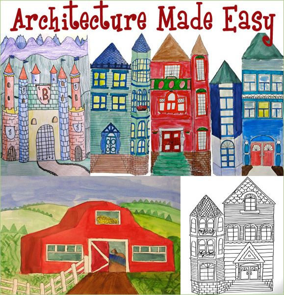 102 best architecture lessons images on pinterest | elementary art