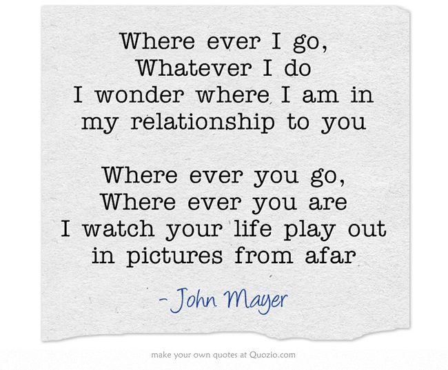 John Mayer - In Your Atmosphere