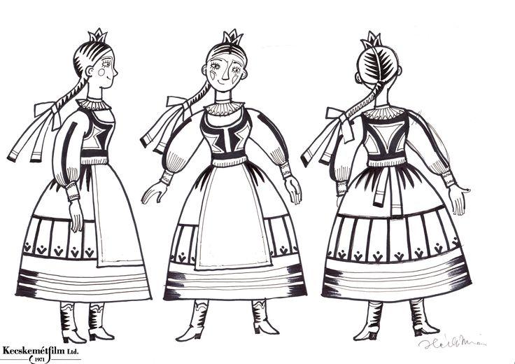 2.,  http://www.magyarnepmesek.eu/download/files_in_category/3, magyar népmesék kifestő, a kőszívű ember, Hungarian illustration, Hungarian folk tale coloring