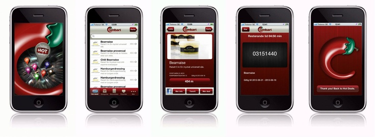 Grilla hör sommaren till... nu lanserar Cumbari mobila kupongerbjudande i sin iPhone app. I appen finner du rabattkuponger på flera olika såser från Erik's. Appen finner du nedan: http://itunes.apple.com/us/app/cumbari/id494521898?mt=8