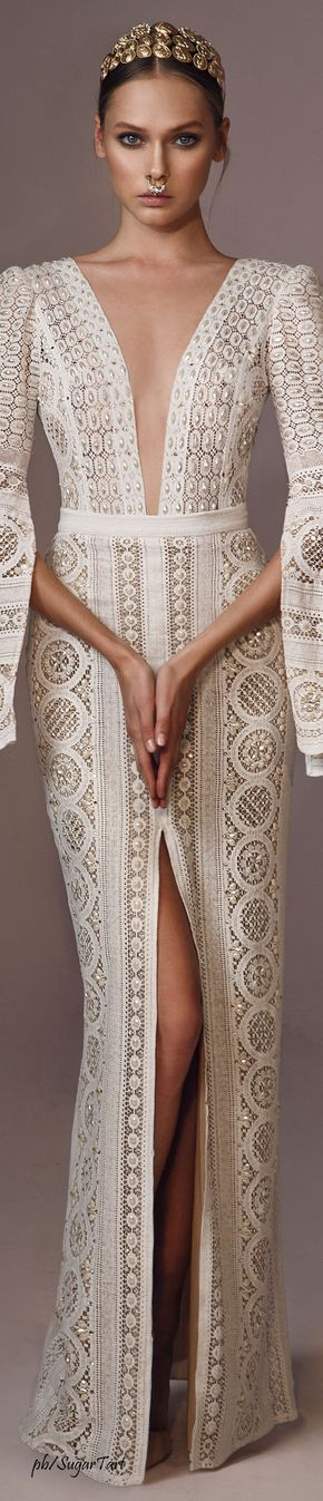 Stunning Sheath Wedding Gown