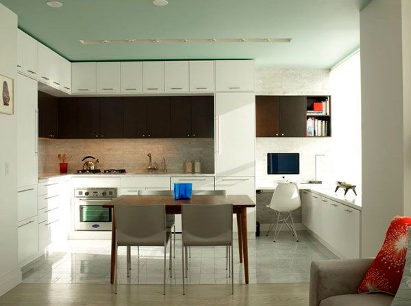 Minimalist Kitchen Design   Modern   Kitchen   New York   Urban Homes    Innovative Design For Kitchen U0026 Bath **consider Fully Integrated  Refrigerator Where ...