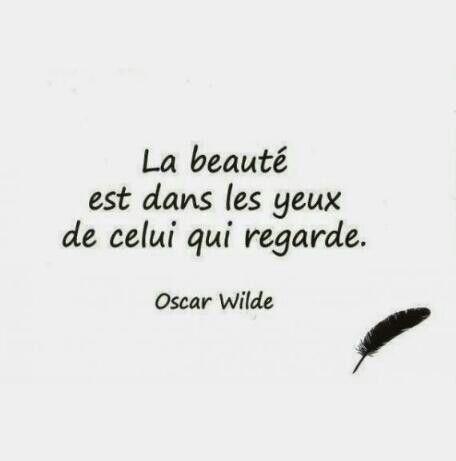 La beauté est dans les yeux de celui qui regarde