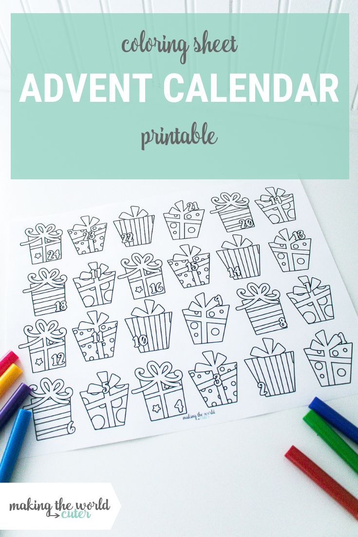 Print This For Christmas Darling Advent Calendar Coloring Sheet Printable Advent Calendar Advent Calendars For Kids Traditional Advent Calendar [ 1102 x 735 Pixel ]