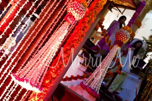 Indian Wedding florals by Marry Me Weddings