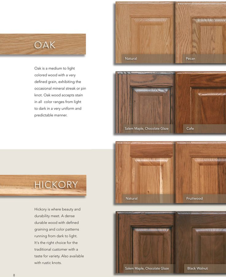 Natural Oak Kitchen Cabinets: 1000+ Ideas About Hickory Cabinets On Pinterest