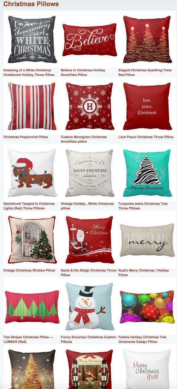 25+ unique Christmas cushions ideas on Pinterest Christmas - decorative christmas pillows