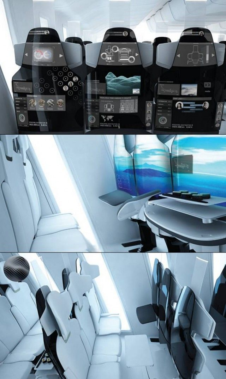 COS - Aircraft Cabin Interior design by Jan Meissner | wordlessTech
