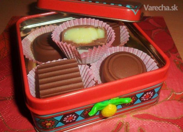 Citrónové pralinky s bielou čokoládou (fotorecept)