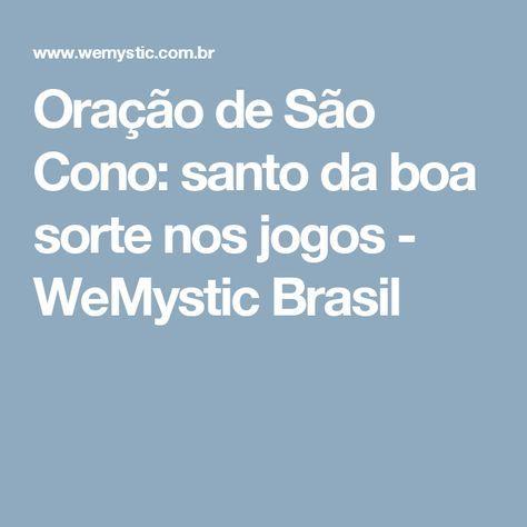 Oração de São Cono: santo da boa sorte nos jogos - WeMystic Brasil