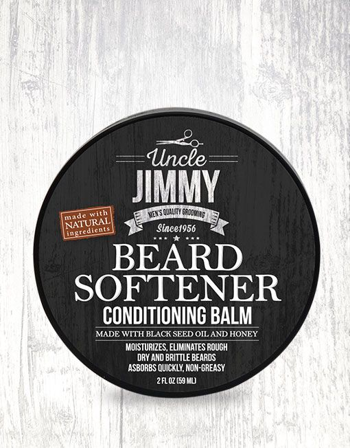 Uncle Jimmy Beard Softener 2oz