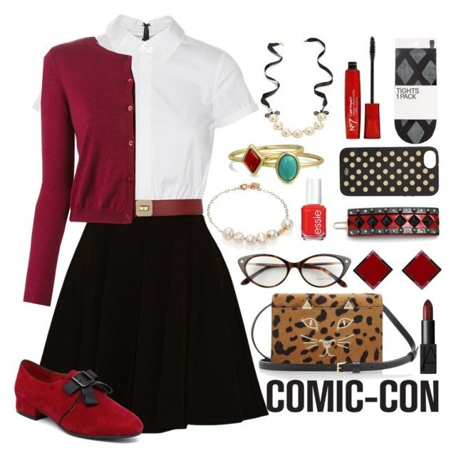 U0026quot;Prim Harley Quinn Outfitu0026quot; by orange-seltzer liked on Polyvore | Polyvore | Pinterest | Outfit ...
