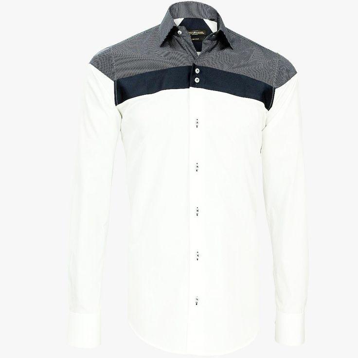 Men's Formal Shirt Men Italian Dress Designer Casual Luxury Shirts S M L XL XXL | eBay