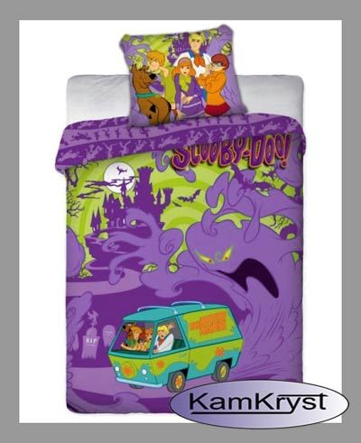 Bedding Scooby Doo Monsters in size 160x200 KamKryst | Pościel Scooby Doo Monsters w romiarze 160x200 KamKryst #scoobydoo #scooby_doo #scoobydoo_bedding