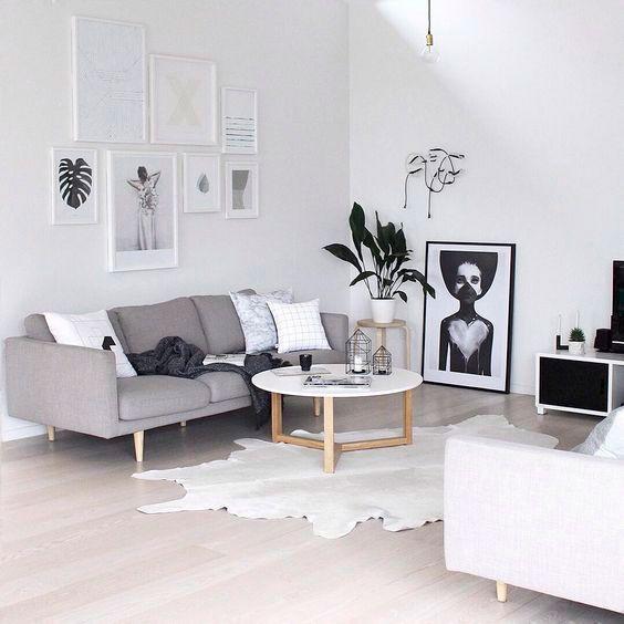 Cinza na decoração eine Sammlung an Ideen zu Einrichten und - wohnzimmer schwarz weis grau