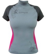 Stohlquist Women's Short Sleeve Burnout Rashguard