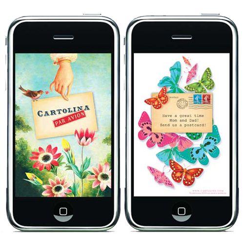 Cartolina iPhone apps. $2.99